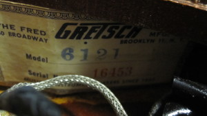 Gretsch 6121 serial number
